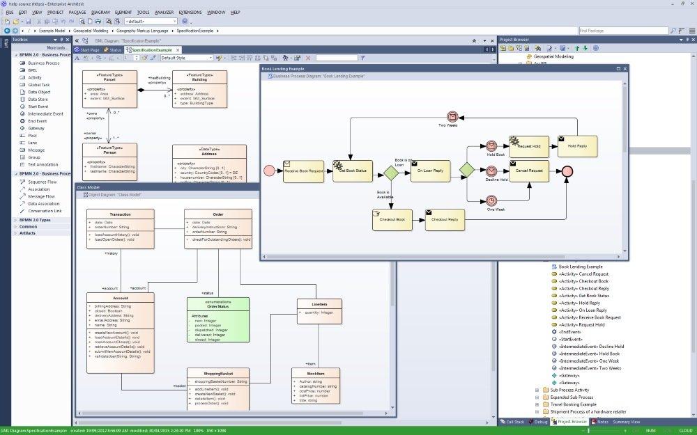 Download sparx systems enterprise architect 12 for Entreprise architecte download