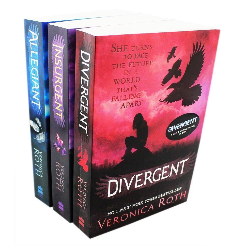 Download The Divergent Series Trilogy -Divergent Insurgent