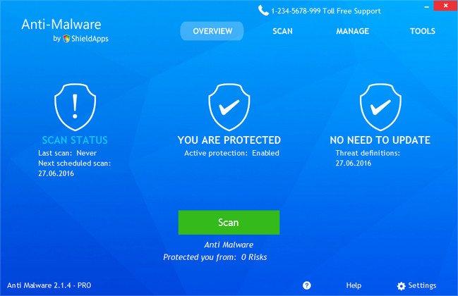 Resultado de imagen de ShieldApps Anti Malware 4