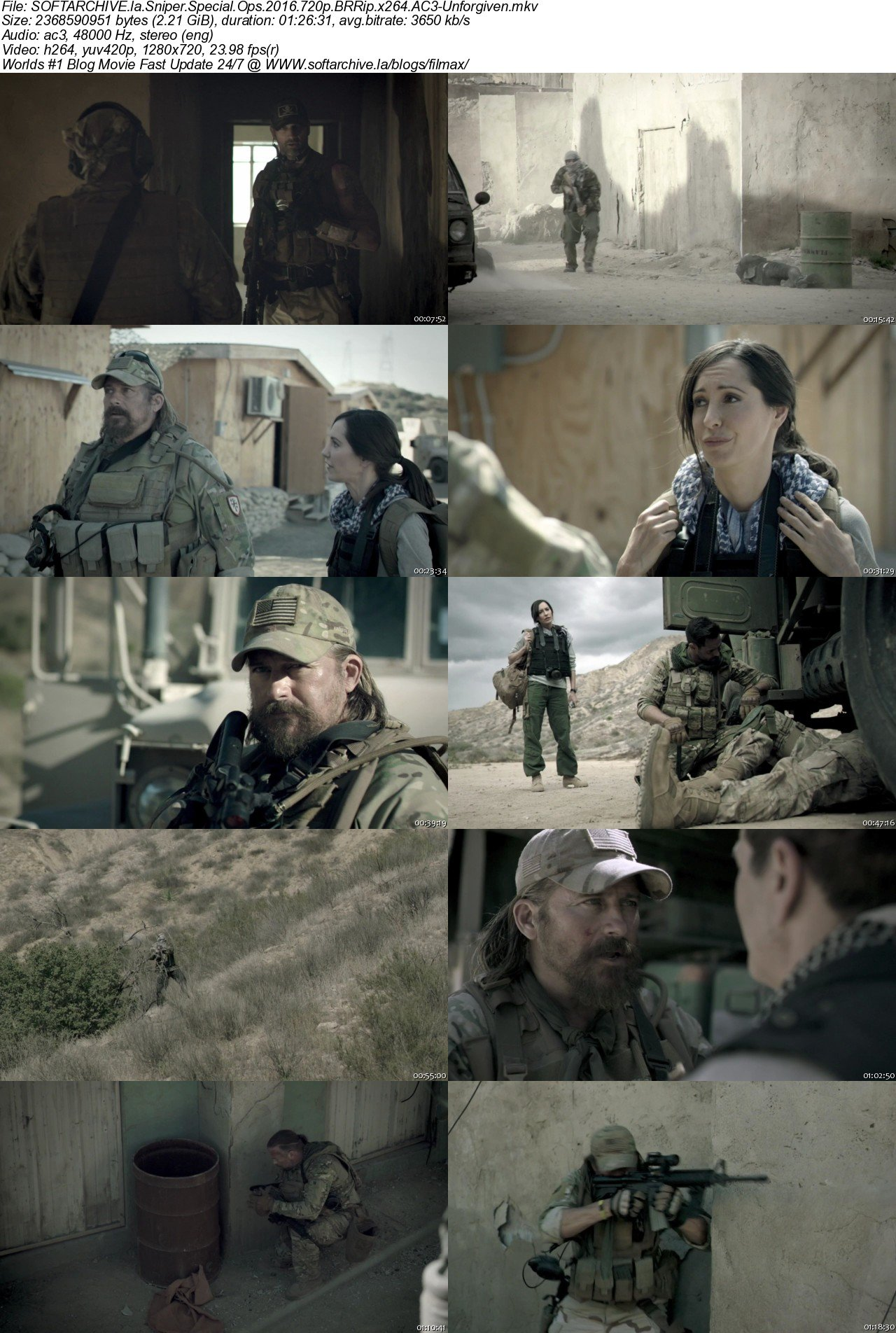 Download Sniper Special Ops 2016 720p BRRip x264 AC3-Unforgiven - SoftArchive