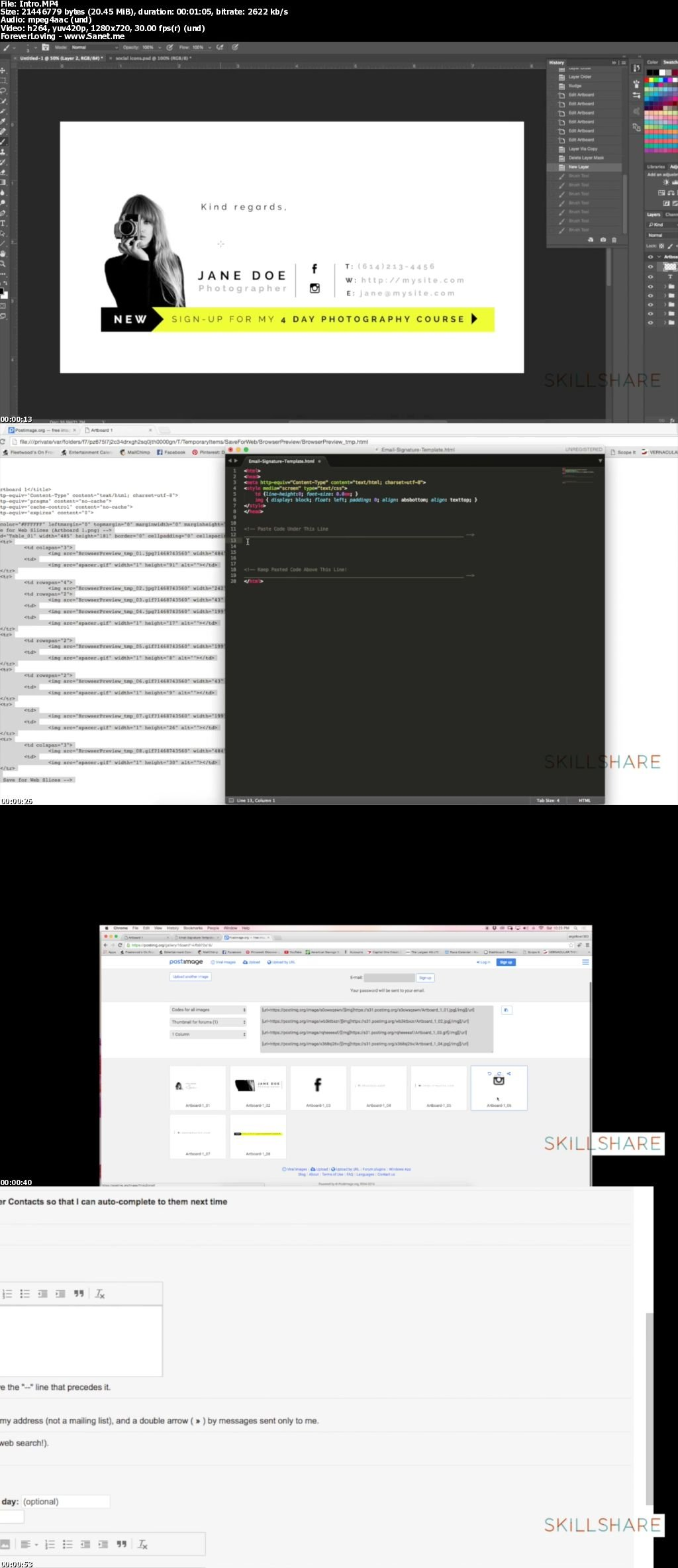 Download Create Your Own HTML Email Signature - SoftArchive