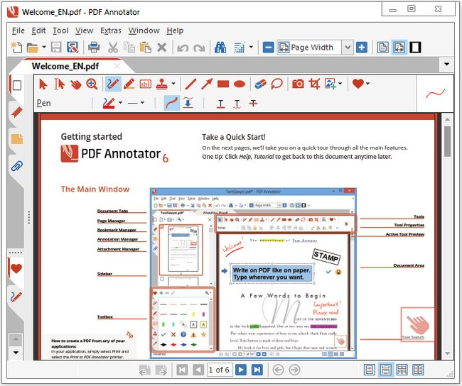 PDF Annotator 6.1.0.617 Multilingual + Portable