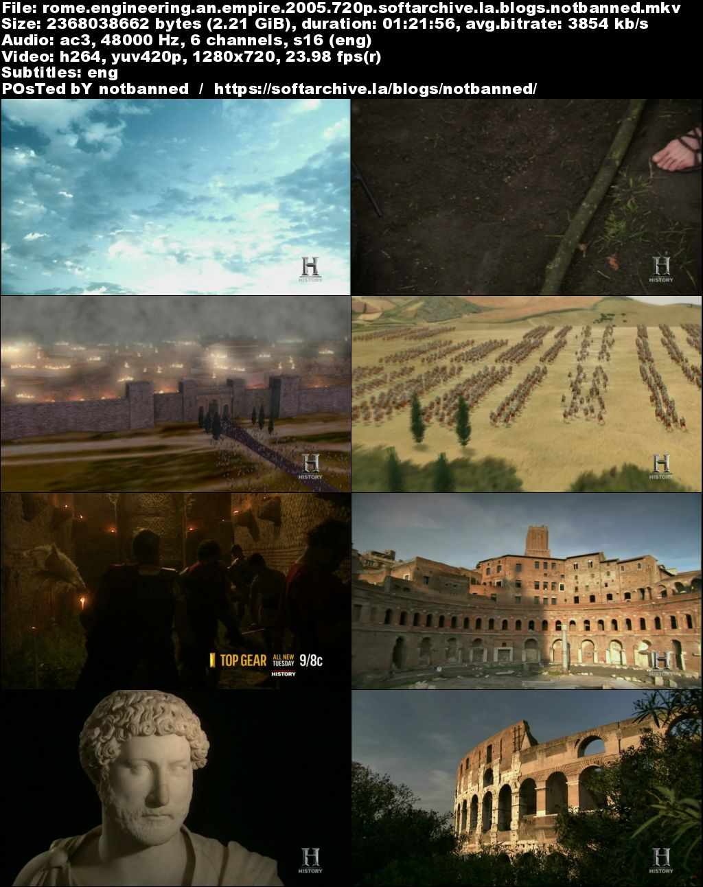Download History Channel - Rome: Engineering an Empire ...
