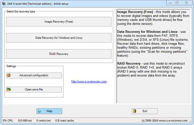 Zero Assumption Recovery 10.0.916 Technician Edition