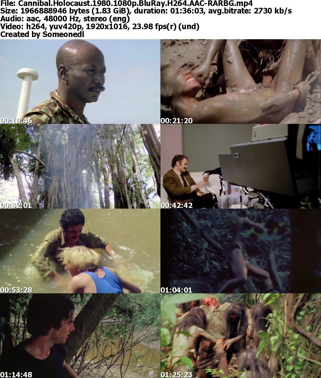 Cannibal Holocaust Nude Scenes