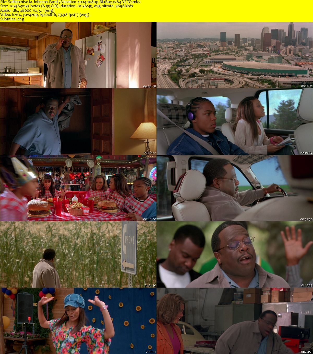 Download Johnson Family Vacation 2004 1080p BluRay x264 ...