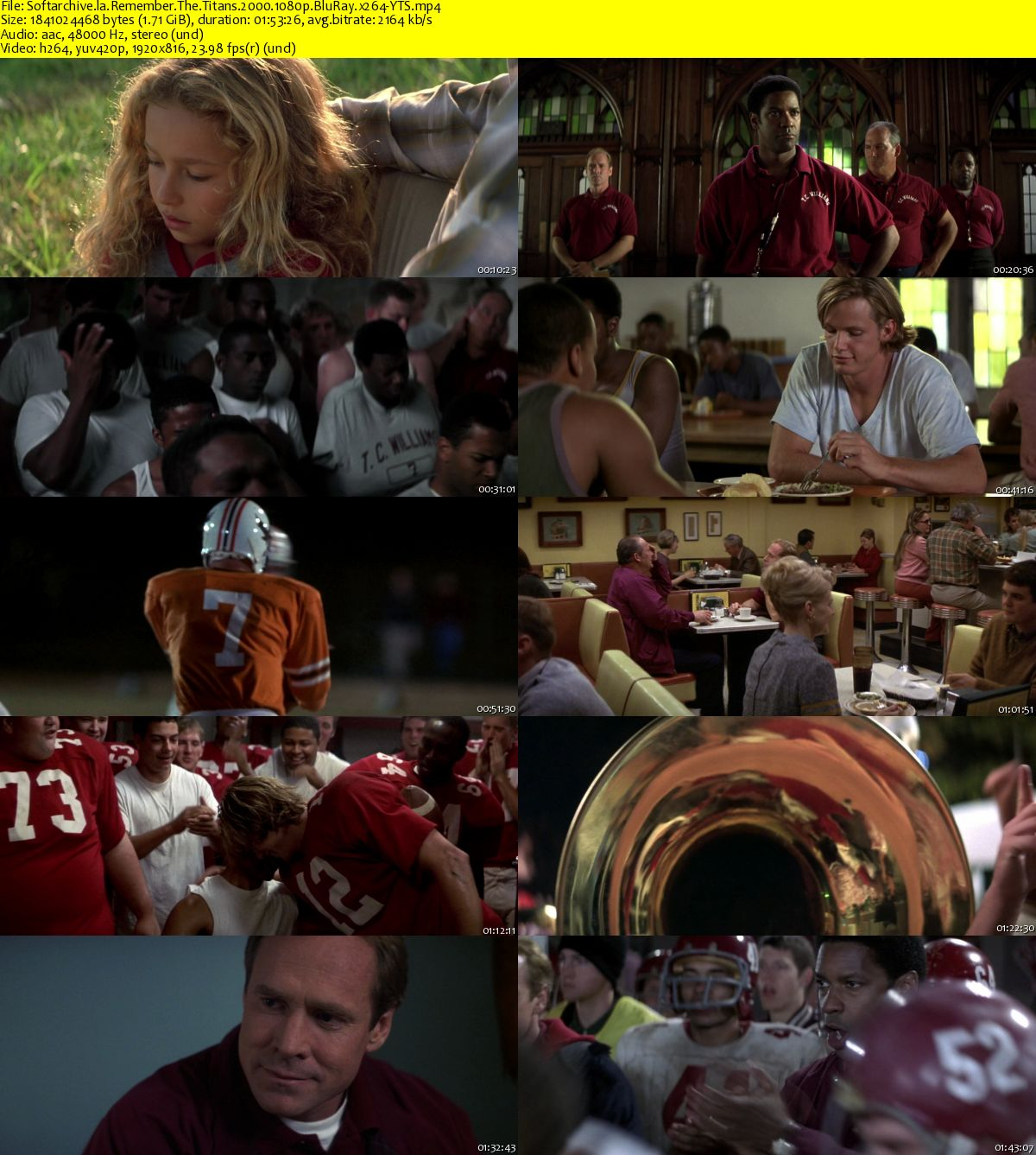 remember the titans can't you This feature is not available right now please try again later.