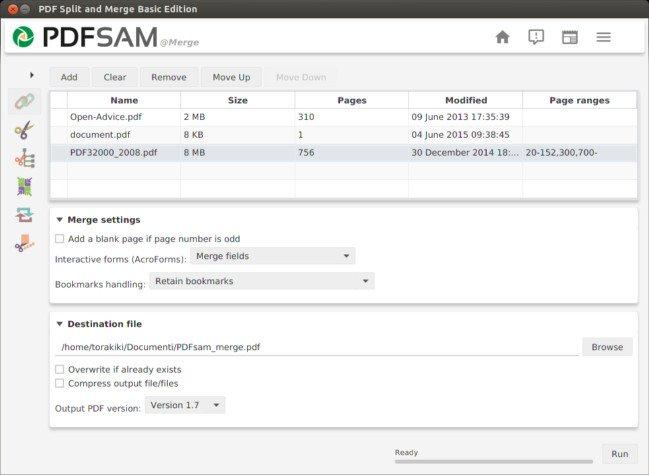 PDFsam -PDF Split and Merge 3.3.7