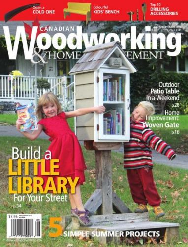 Download Canadian Woodworking Home Improvement August