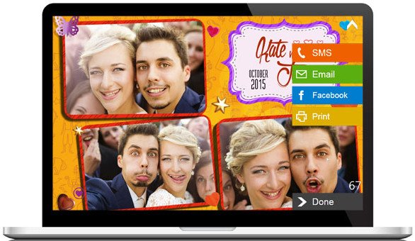 dslrBooth Photo Booth Software 5.8.42.1 Professional