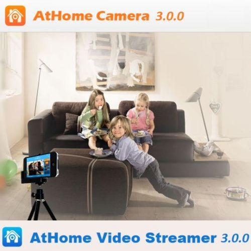AtHome Camera and Video Streamer 3.5.5