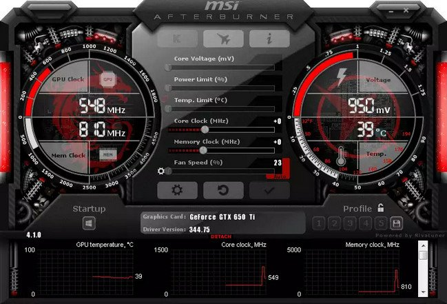MSI Afterburner 4.6.0