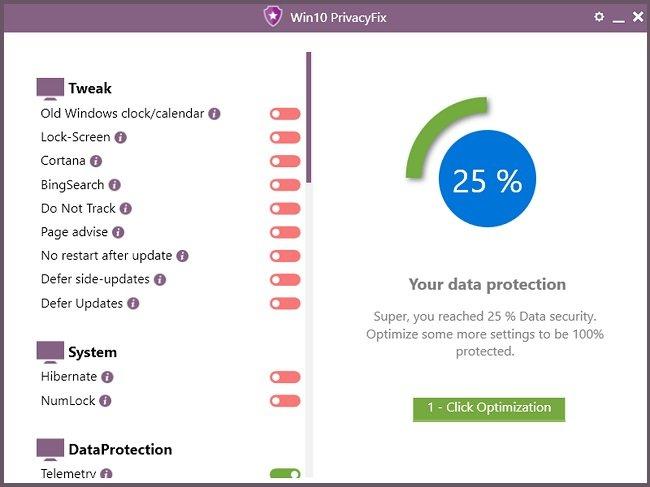 Abelssoft Win10 PrivacyFix 1.8