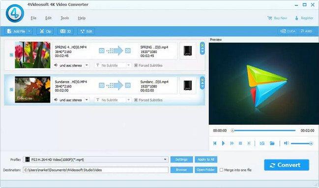 4Videosoft 4K Video Converter 6.2.16 Multilingual Portable