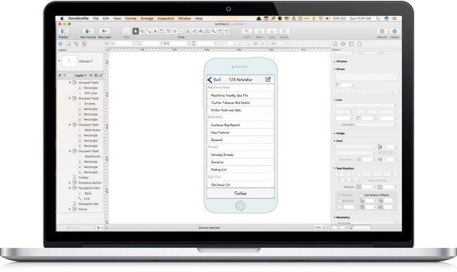 OmniGraffle Pro 7.3 Multilingual MacOSX