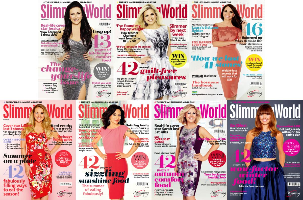Download Slimming World 2016 Full Year Issues Collection