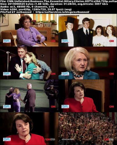 Cnn Unfinished Business The Essential Hillary Clinton 2016 720p Hdtv X264