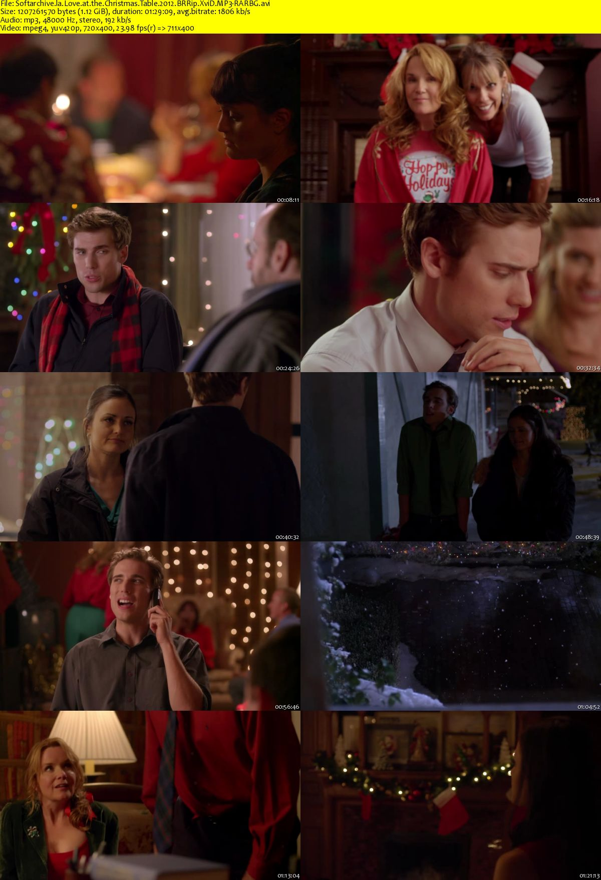 Love At The Christmas Table.Download Love At The Christmas Table 2012 Brrip Xvid Mp3