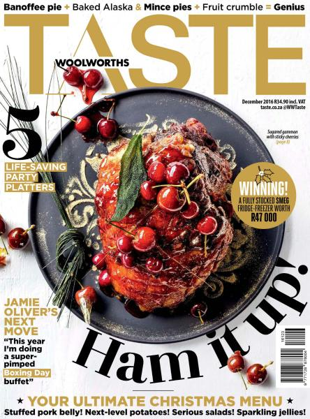 Download Taste South Africa -- December 2016 - SoftArchive