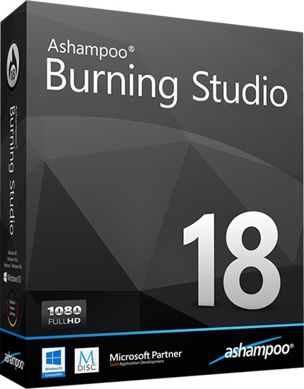 Ashampoo Burning Studio 18.0.3.6 DC 30.03.2017 Multilingual + Portable