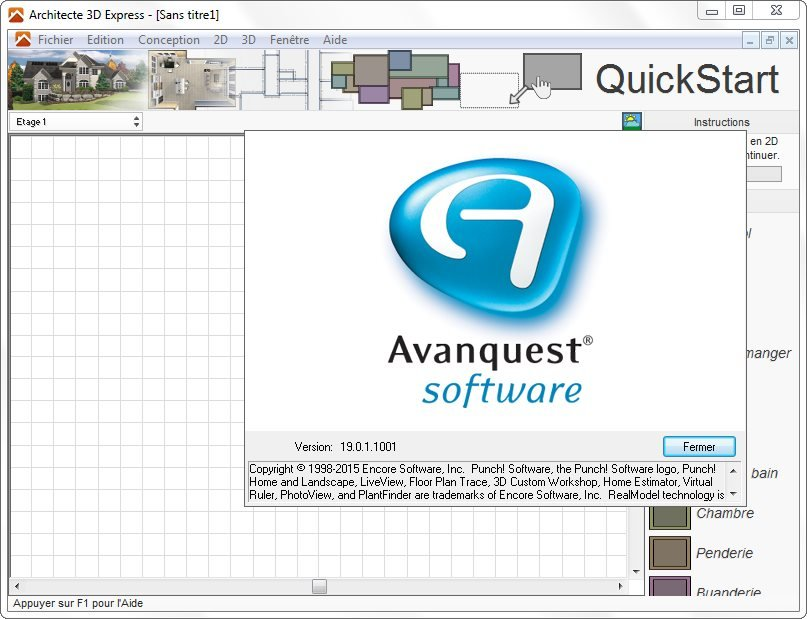 Download avanquest architecte 3d express 2017 19 0 for Architecte 3d avanquest