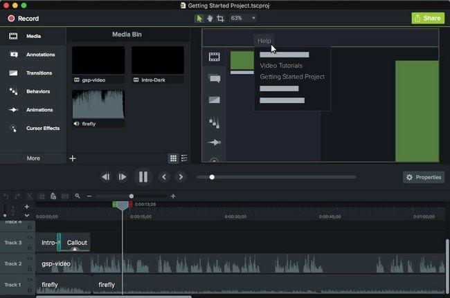 TechSmith Camtasia 3.1.0 (MacOSX)