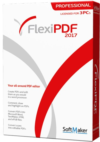 SoftMaker FlexiPDF 2017 Professional 1.08 Multilingual Portable 190218