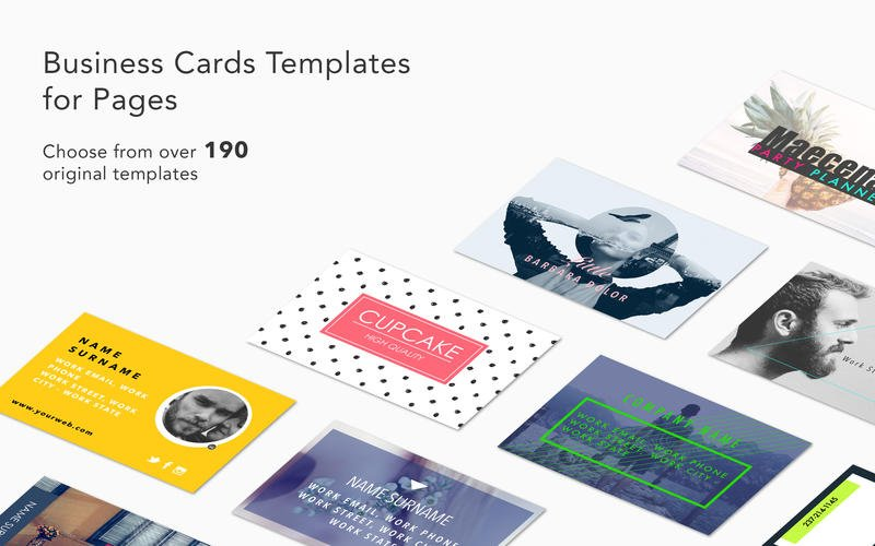 Free Business Card Templates For Mac