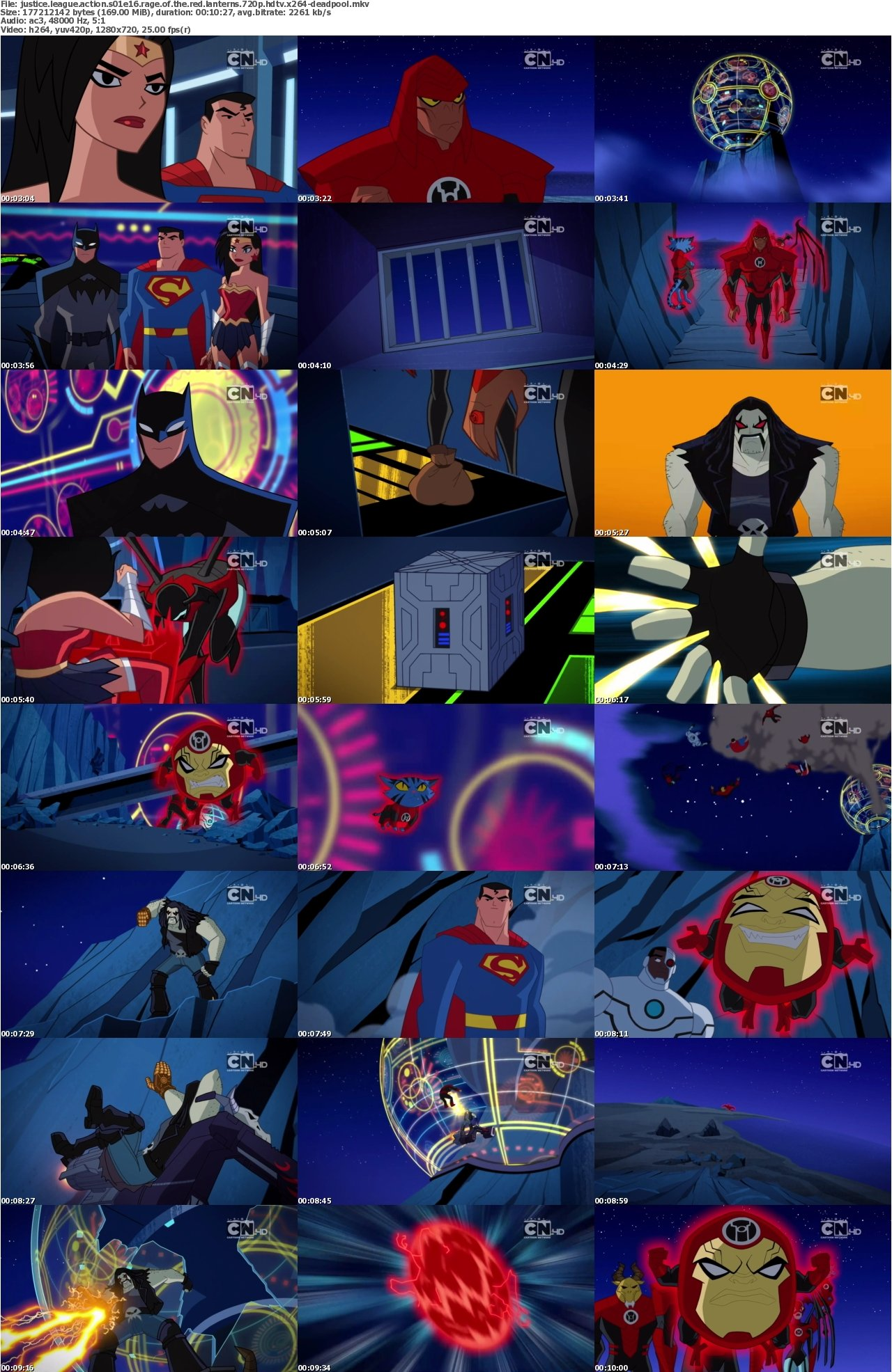 justice league action rage of the red lanterns