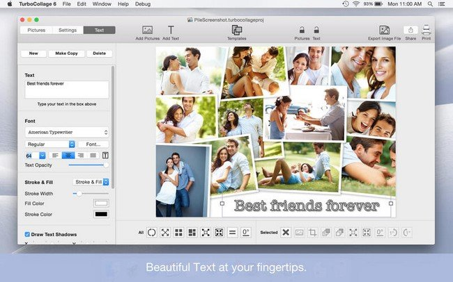 TurboCollage 7.0.3 macOS