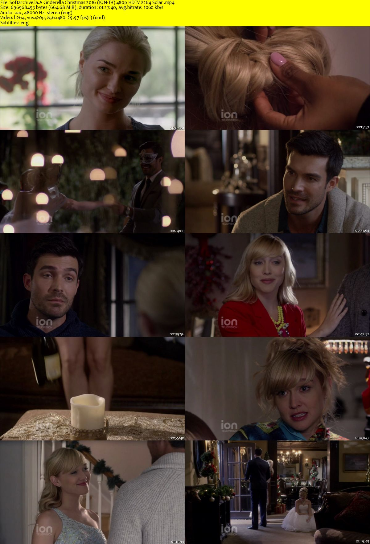 A Cinderella Christmas.Download A Cinderella Christmas 2016 Ion Tv 480p Hdtv X264