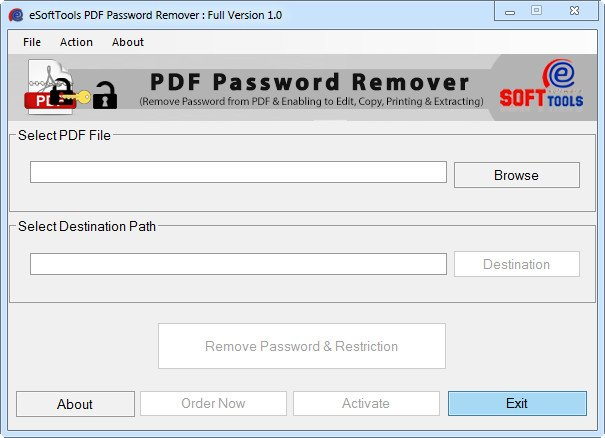 how to unlock drm protected pdf files