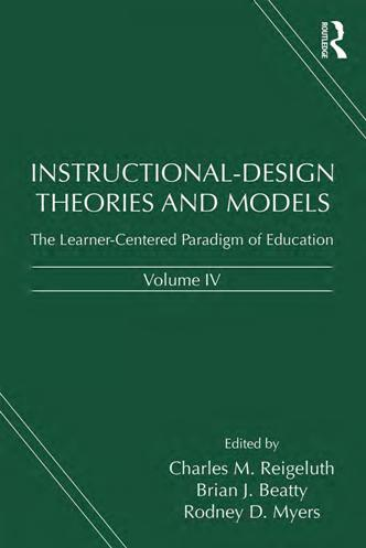Instructional-Design Theories and Models, Volume IV : The Learner-Centered Paradigm of Education