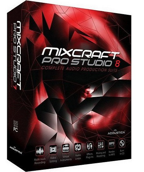 Acoustica Mixcraft Pro Studio 8.1 Build 390.Multilingual