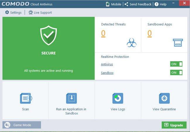 Comodo Cloud Antivirus 1.11.418040.510 Multilingual