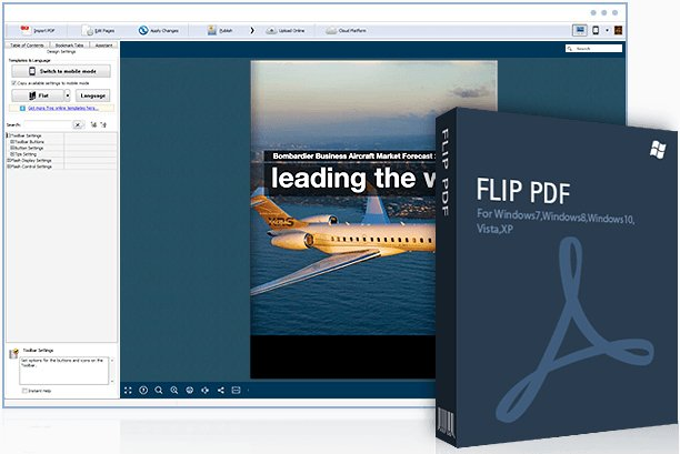 FlipBuilder Flip PDF 4.4.7.5 Multilingual