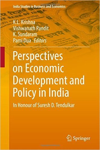 Perspectives on Economic Development and Policy in India: In Honour of Suresh D. Tendulkar