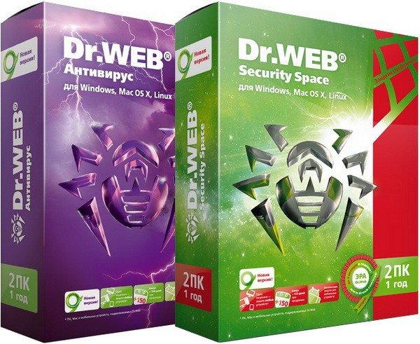 Dr.Web Security Space & Anti-Virus 11.0.5.5180 Multilingual