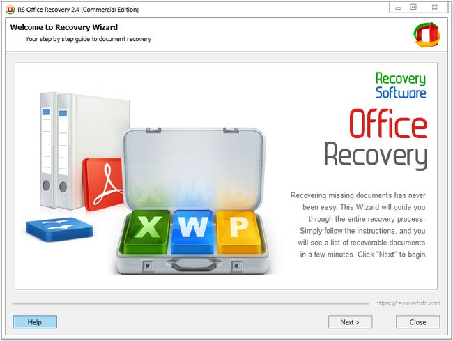RS Office Recovery 2.4 Multilingual + Portable