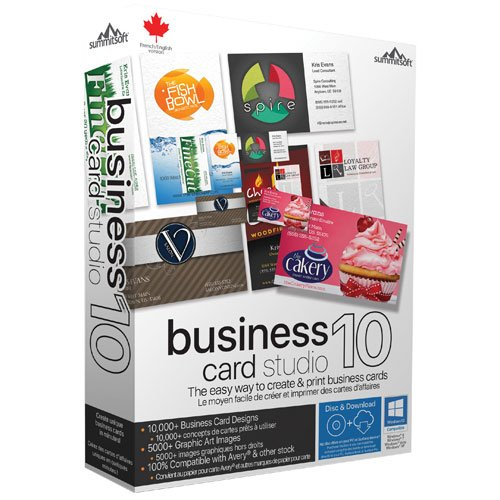 Summitsoft Business Card Studio Deluxe 10 v.5.0.2