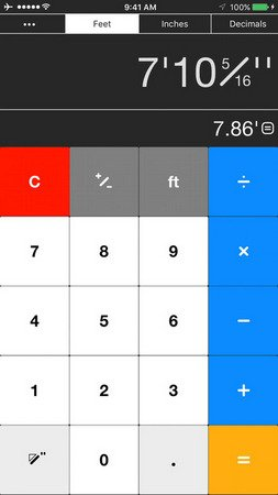 Workman's Construction Calculator v1.2.2
