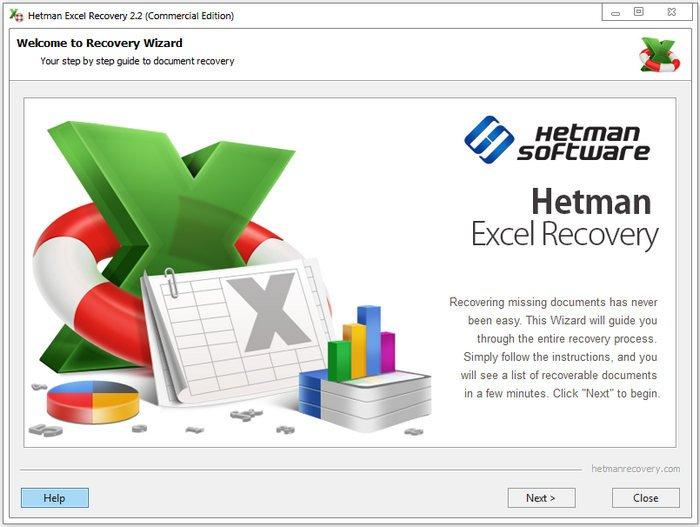 Hetman Excel Recovery 2.4 Multilingual + Portable