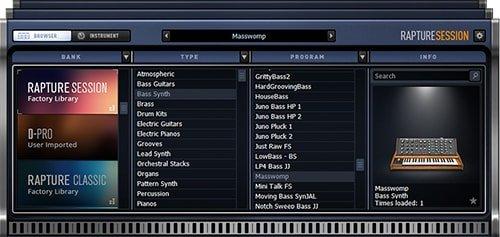 Download Cakewalk Rapture Session v2 0 5 77 WiN - SoftArchive