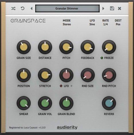 Audiority GrainSpace v1.0.3 OSX