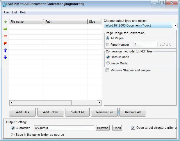 Ailt PDF to All Document Converter 6.8