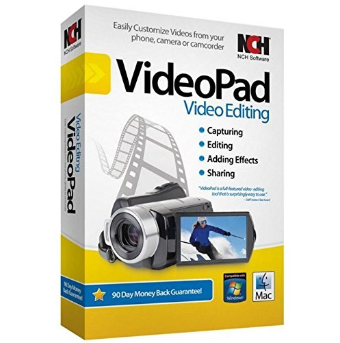 NCH VideoPad Video Editor Professional v5.01-Mac OSX