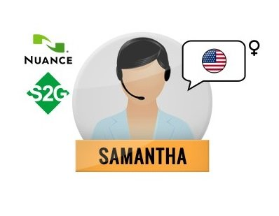 Nuance Voice Package VE Premium with Speech2Go (Samantha-English)