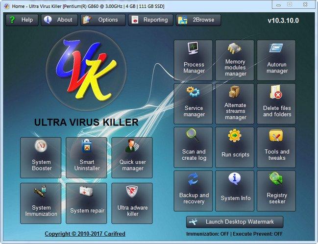 UVK Ultra Virus Killer 10.7.5.0 + Portable