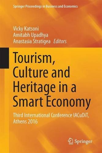 Tourism, Culture and Heritage in a Smart Economy