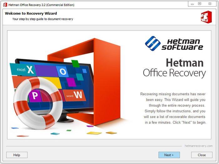 Hetman Office Recovery 2.4 Multilingual + Portable